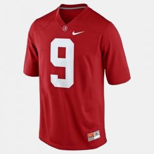 College Football Amari Cooper Alabama Jersey Red #9 For Men's 616789-594
