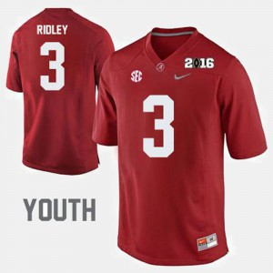 Calvin Ridley Alabama Jersey Crimson College Football Youth #3 685886-486
