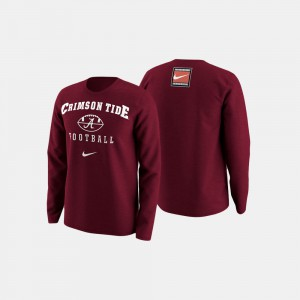 Crimson College Football Retro Pack For Men Alabama Sweater 212227-726