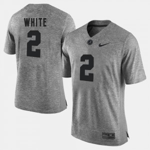 #2 Gridiron Limited Gray Gridiron Gray Limited For Men DeAndrew White Alabama Jersey 327788-471
