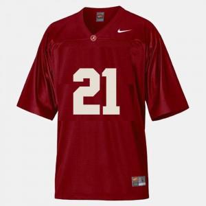 Dre Kirkpatrick Alabama Jersey Red #21 College Football Men's 842658-688
