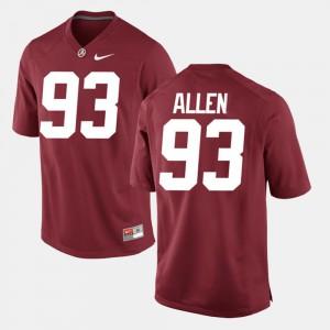 Crimson Alumni Football Game Men Jonathan Allen Alabama Jersey #93 264793-700