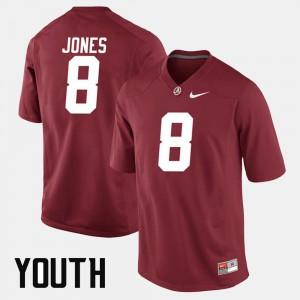 Crimson For Kids Julio Jones Alabama Jersey Alumni Football Game #8 649586-959
