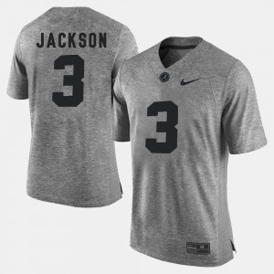 Gridiron Limited For Men's Gridiron Gray Limited #3 Gray Kareem Jackson Alabama Jersey 928163-650