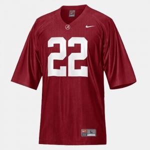 College Football #22 Mark Ingram Alabama Jersey Red Youth(Kids) 845601-998