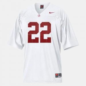 Mark Ingram Alabama Jersey College Football Youth(Kids) White #22 219996-144