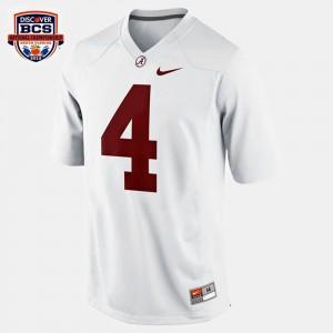 White T.J. Yeldon Alabama Jersey #4 College Football Youth 463243-299