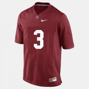 For Men Red Trent Richardson Alabama Jersey College Football #3 723581-904
