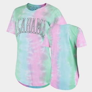 Rainbow Tie Dye Bay Women Alabama T-Shirt 748171-620