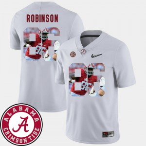 #86 White A'Shawn Robinson Alabama Jersey Football Pictorial Fashion For Men 370137-189