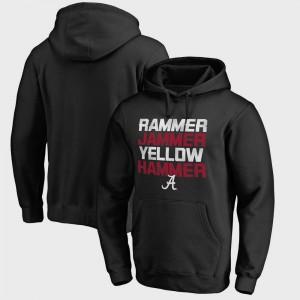 For Men Alabama Hoodie Bowl Game Hometown Collection Rammer Jammer Fanatics Black 142066-717