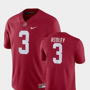 Calvin Ridley Alabama Jersey Crimson College Football Game #3 Men 933747-395