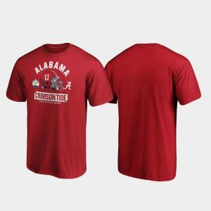 Spike For Men's 2020 Citrus Bowl Bound Crimson Alabama T-Shirt 171423-894
