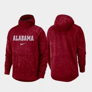 Basketball Team Logo Pullover Crimson Alabama Hoodie Spotlight Men's 750927-729