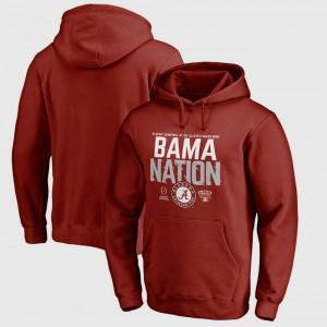 College Football Playoff 2018 Sugar Bowl Bound Delay Alabama Hoodie Crimson Men Bowl Game 480847-278