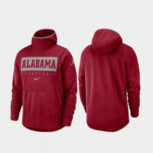 Basketball Alabama Hoodie Crimson Spotlight For Men 337662-278