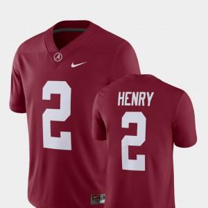 Crimson Men Derrick Henry Alabama Jersey #2 Alumni Football Game Player 905065-507