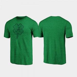 Celtic Charm Tri-Blend Men's St. Patrick's Day Alabama T-Shirt Green 980317-236