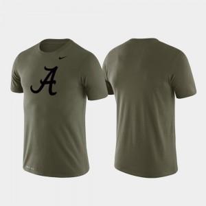Performance Tonal Logo Legend Green Men's Alabama T-Shirt 674237-357