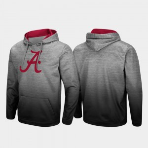 For Men Pullover Sitwell Sublimated Alabama Hoodie Heathered Gray 912802-111