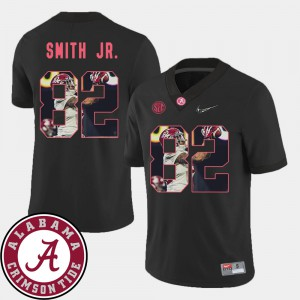 Black For Men's Pictorial Fashion #82 Football Irv Smith Jr. Alabama Jersey 898009-275