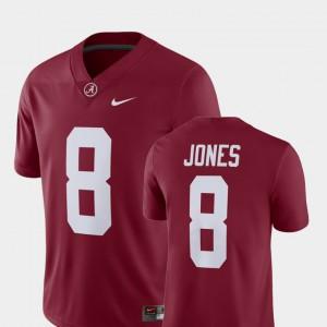 Alumni Football Game Player #8 Julio Jones Alabama Jersey For Men Crimson 304641-345
