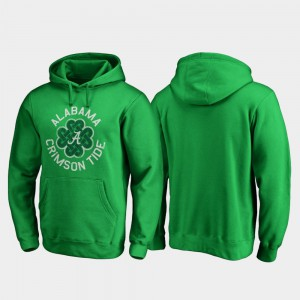 Mens Alabama Hoodie Luck Tradition St. Patrick's Day Kelly Green 827853-570