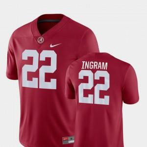 College Football Mark Ingram Alabama Jersey For Men's Crimson #22 Game 570876-601