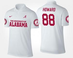 #88 White O.J. Howard Alabama Polo For Men's 658650-716