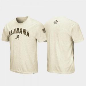 Oatmeal Desert Camo OHT Military Appreciation Alabama T-Shirt Men 804546-643