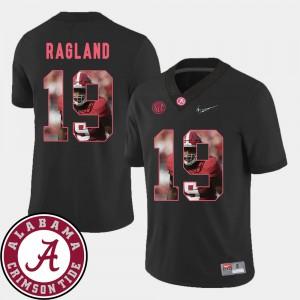 Pictorial Fashion For Men's Reggie Ragland Alabama Jersey Football #19 Black 680094-559