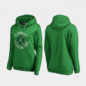 Alabama Hoodie Kelly Green Luck Tradition St. Patrick's Day For Women's 811453-873